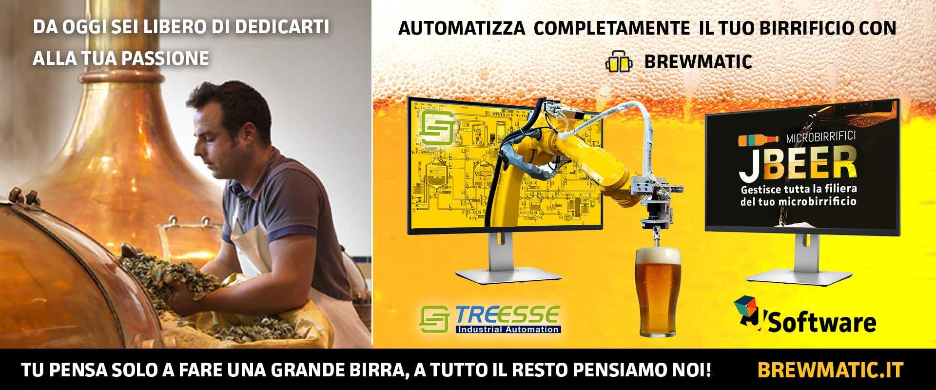 Brewmatic Software gestionale telematico e automazione del birrifico