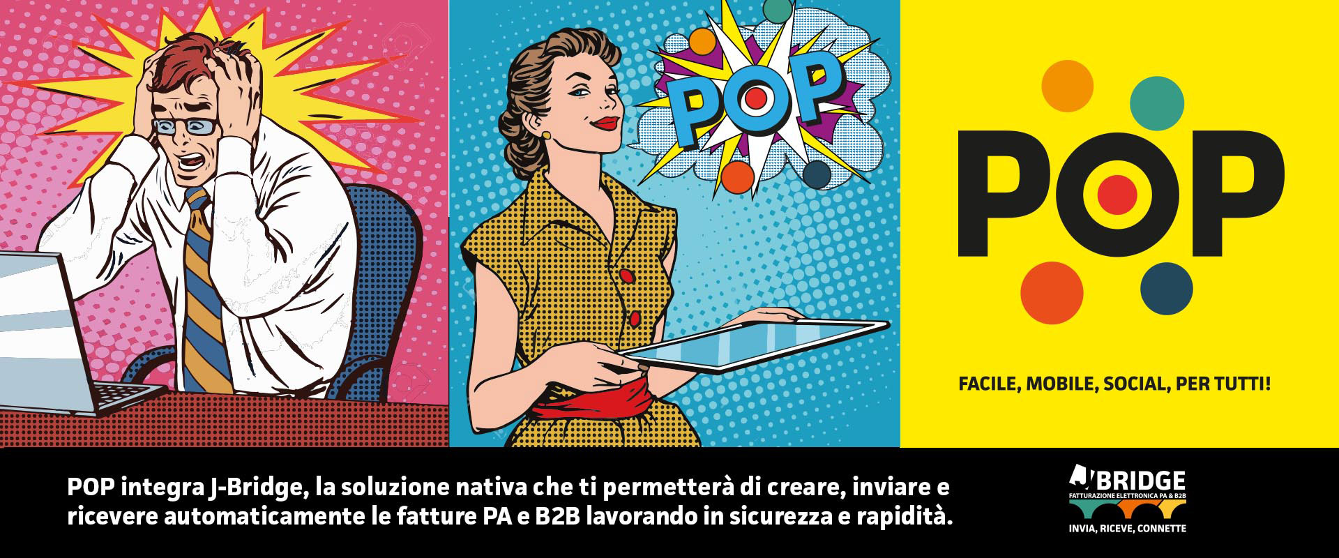 Gestionale fatturazione elettronica POP - J-Software Grosseto _ PA e B2B