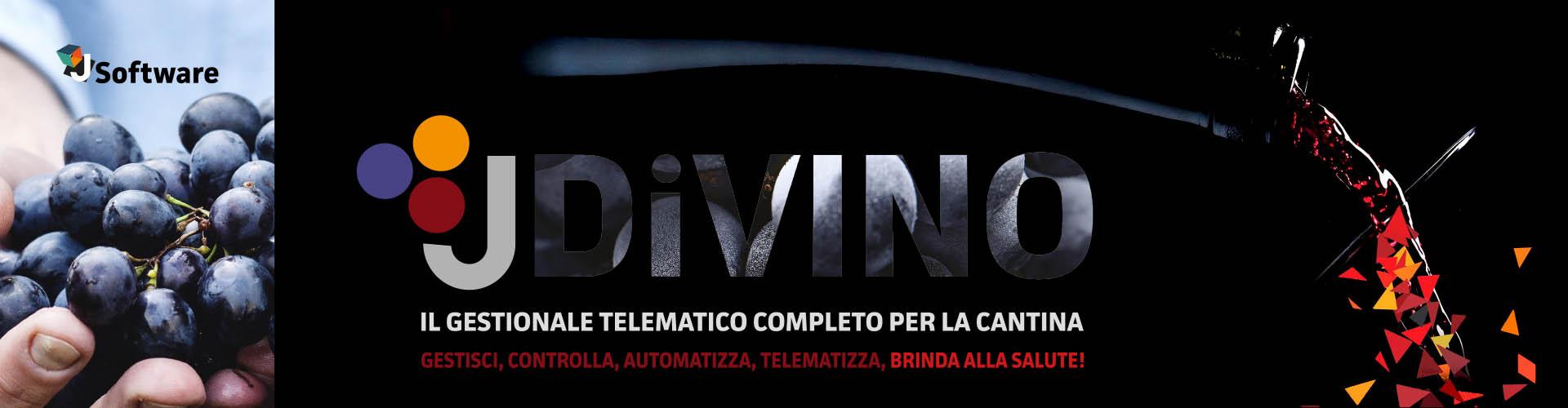 J-DiVINO: Il gestionale telematico dedicato alle Cantine Vinicole