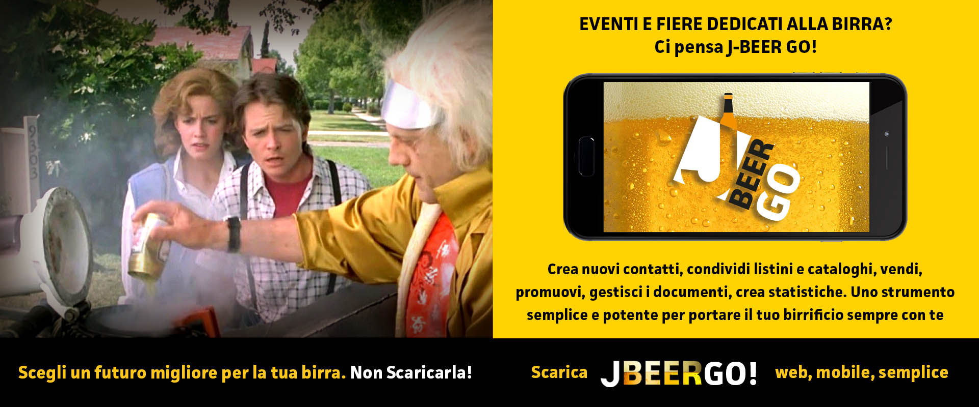 J-BEER GO! – L'APP PER EVENTI E FIERE