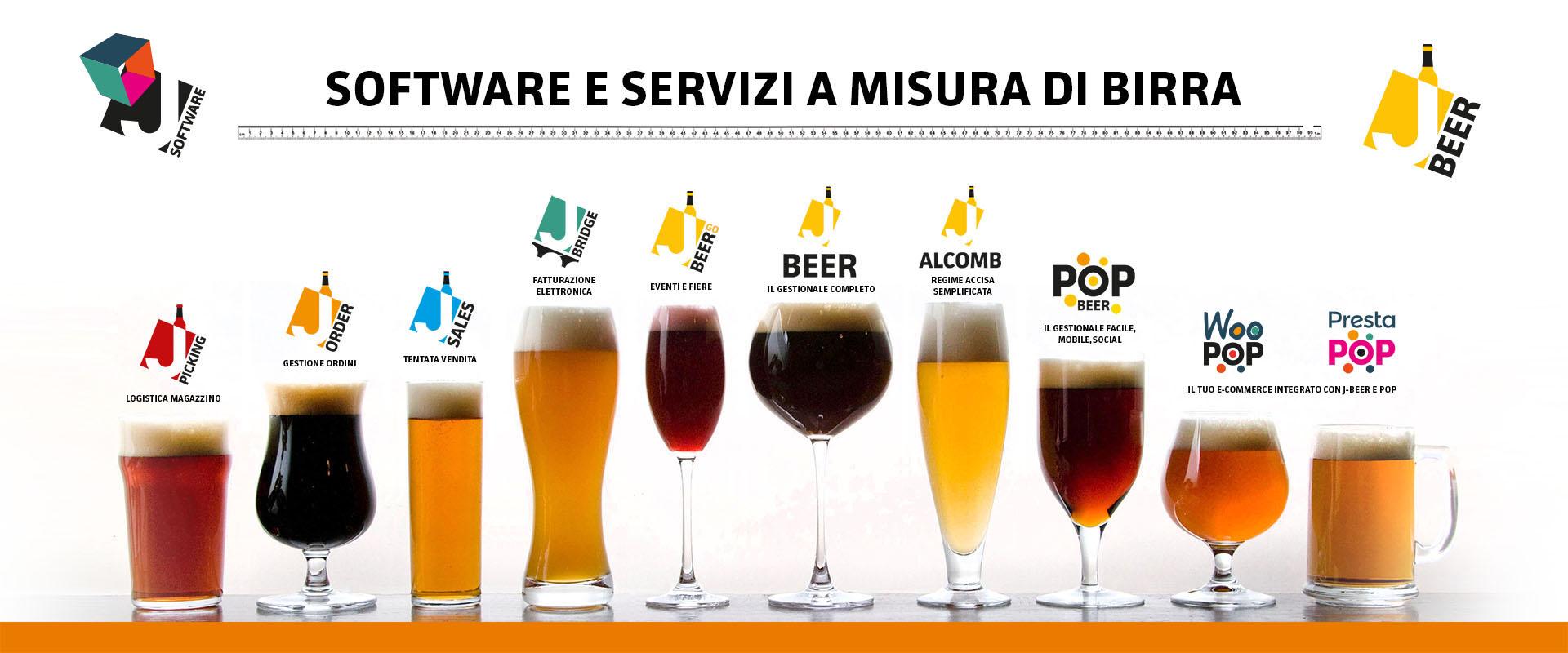 software, app e servizi per il birrificio