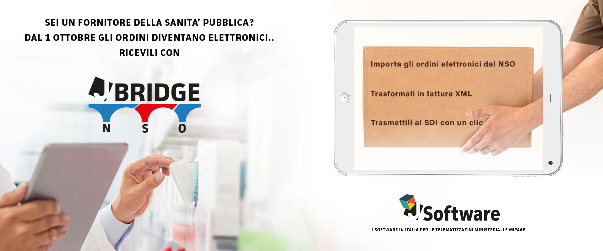J-BRIDGE NSO – Ordini elettronici dalla Sanita' Pubblica