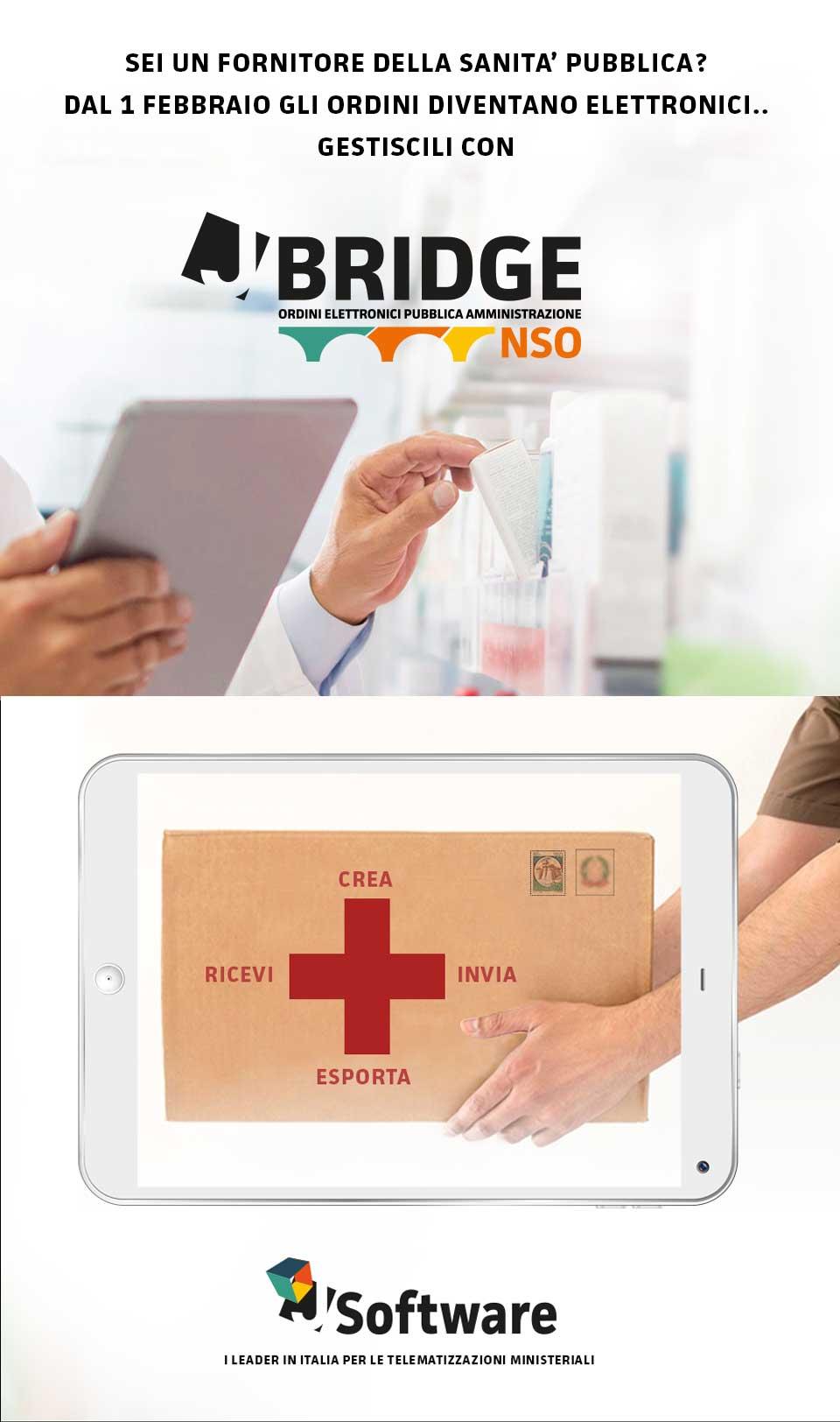 ordini elettronici sanità pubblica - J-software - j-bridge NSO