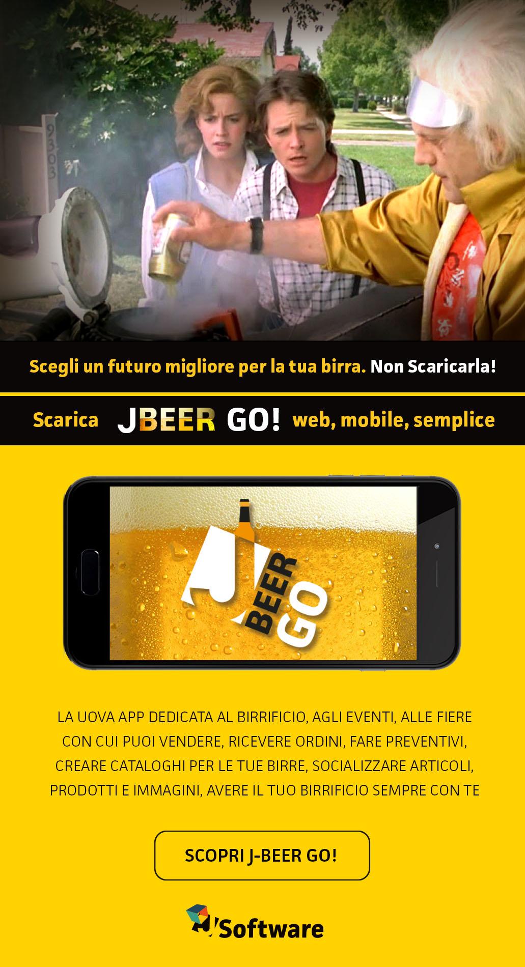 j-beer go - app vendite birrificio artigianale