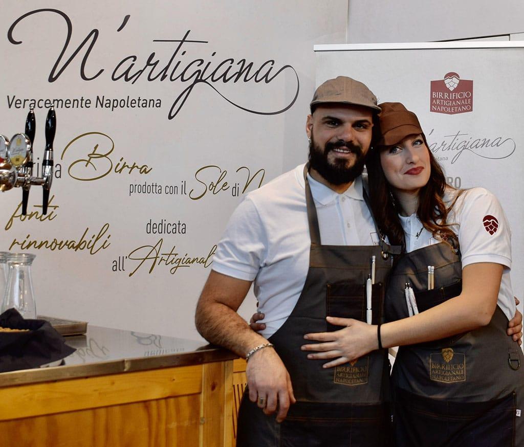 N'artigiana - Birrificio artigianale Napoletano - automazione birrificio 4.0 - J-software