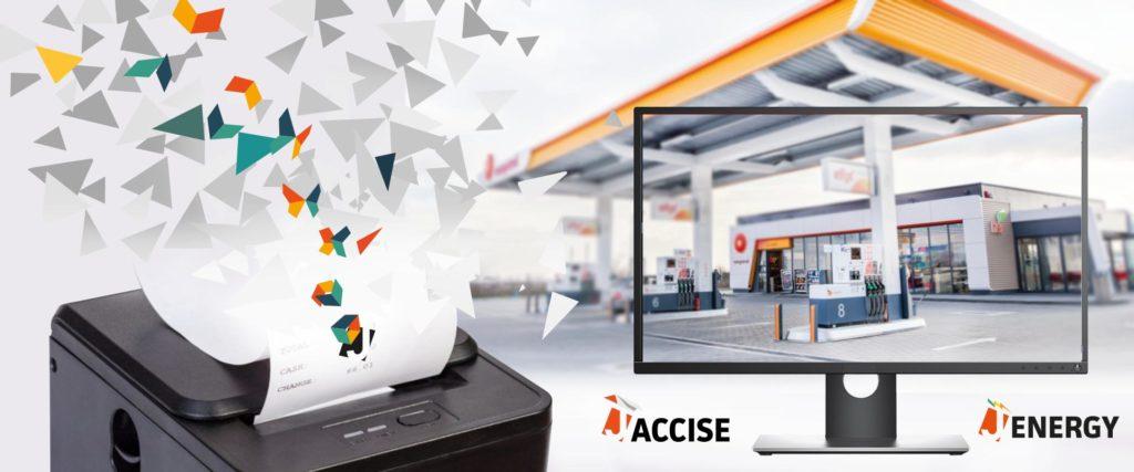 J-accise e J-Energy software accise prodotti energetici - corrispettivi elettronci carburanti