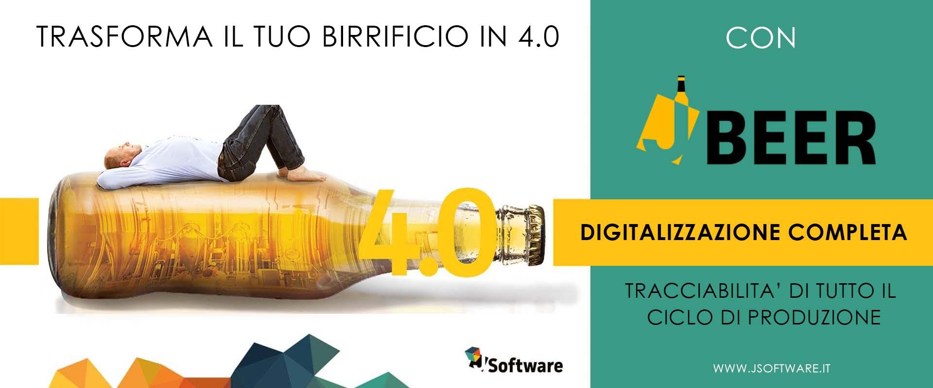 J-BEER - il software 4.0 per il birrificio